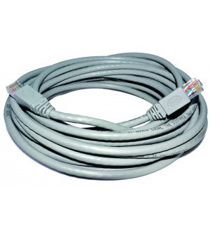 PATCHCORD RJ45 CAT6 1MT GRIS TEC461G