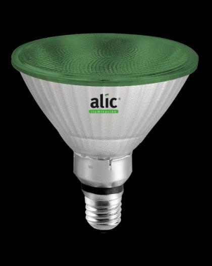 Lámpara PAR38 LED Style FL 10W Verde E27