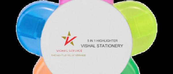 5 in 1 Highlighter Brand