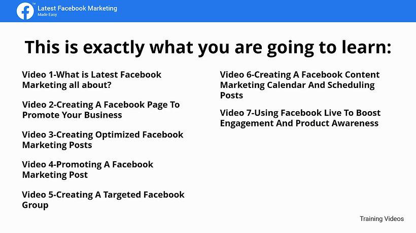 Facebook Digital Marketing Full