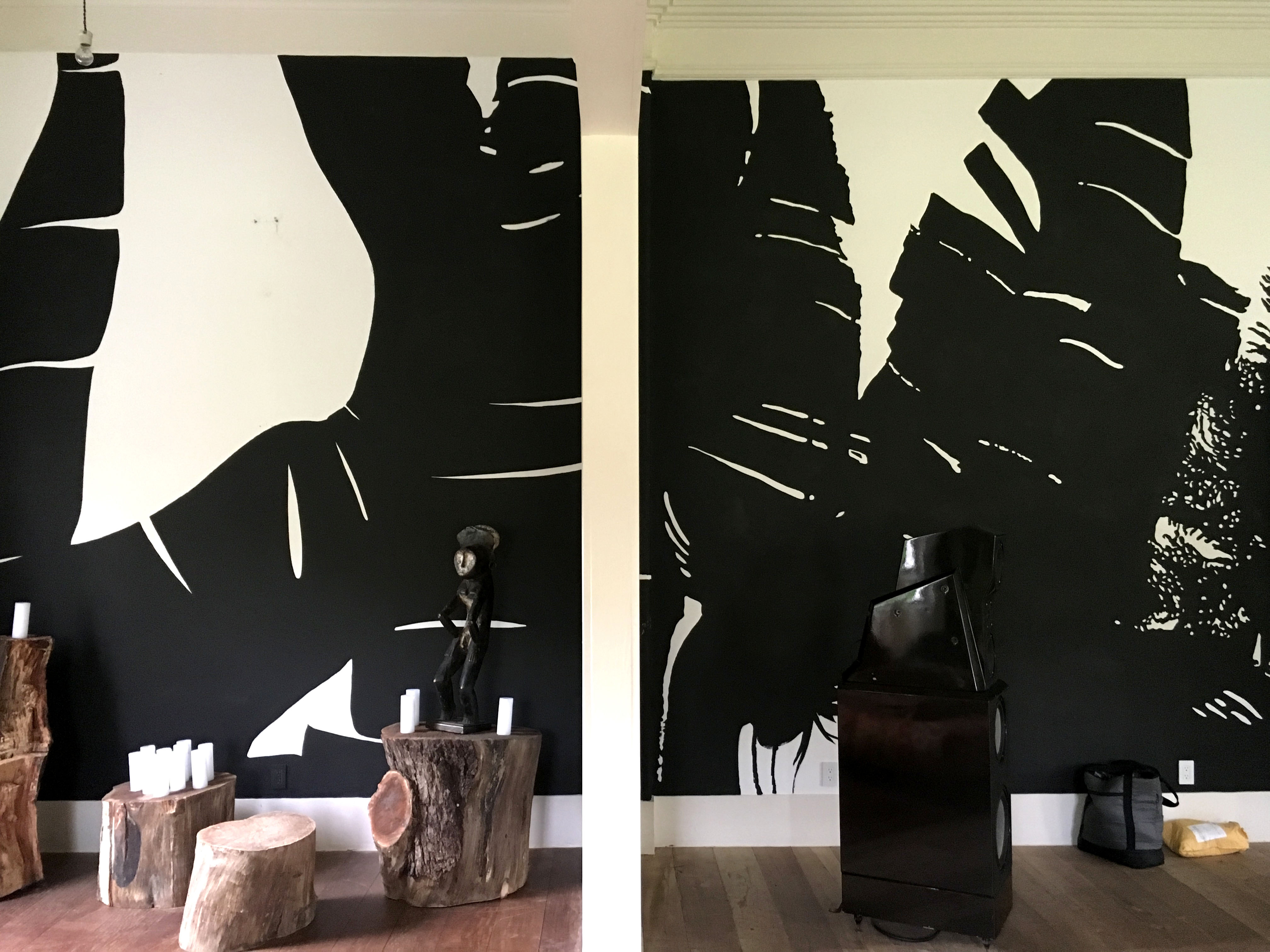 Palms, black