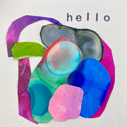 collage tile cards