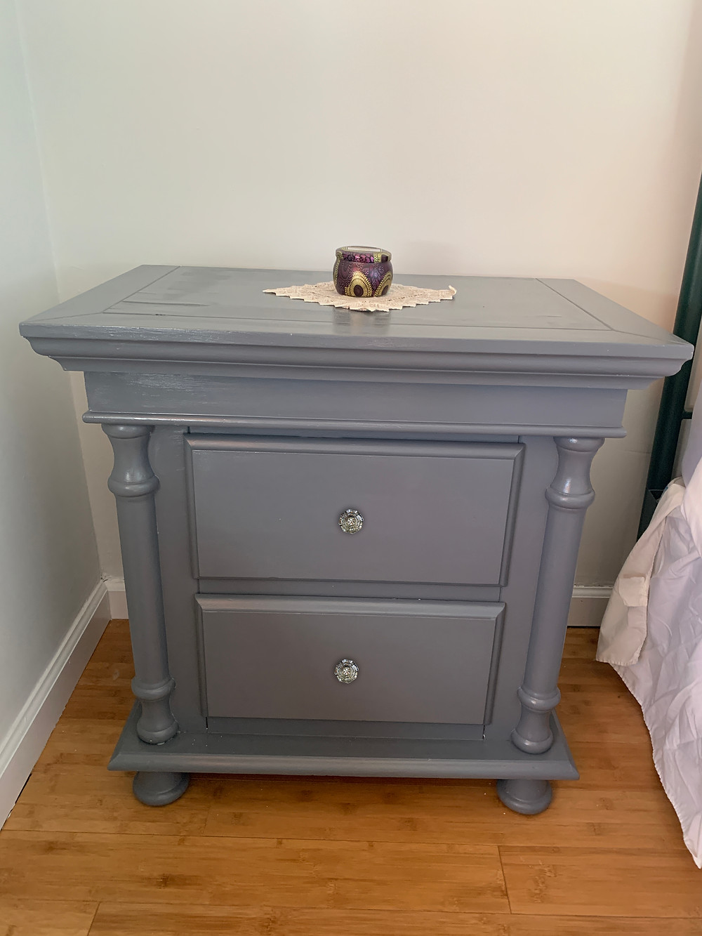 painted night table