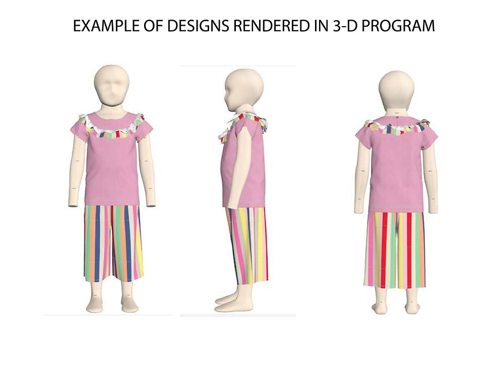 example of 3D design