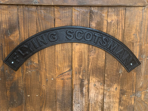 flying scotsman plaque
