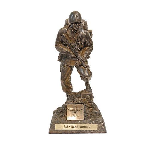 Modern Soldier Standing