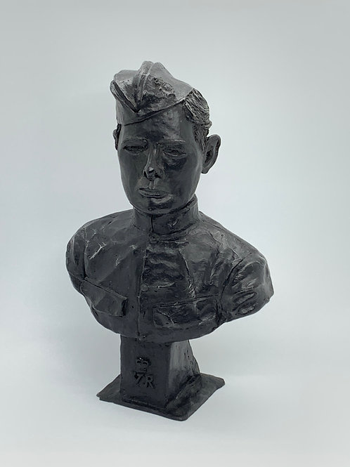Young Winston Bust - Coal