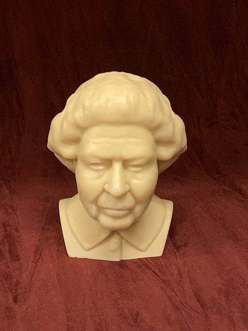 queen elizabeth bust