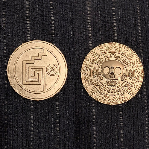 pirates of the carribean coin