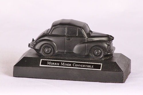 Morris Minor Convertible - cold cast bronze
