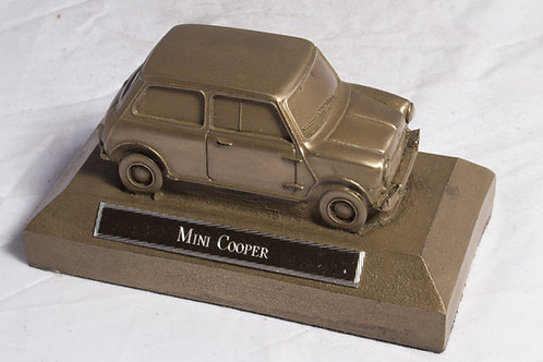 Mini Cooper - cold cast bronze