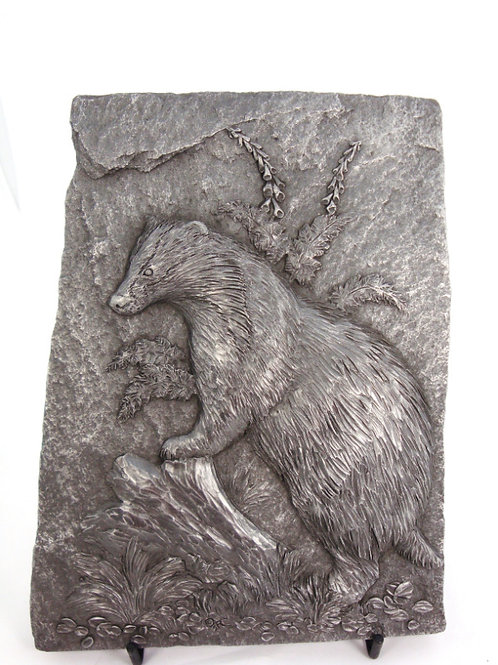 Badger Plaque