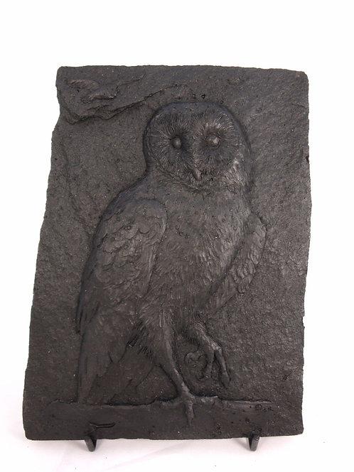 Tawny Owl Plaque