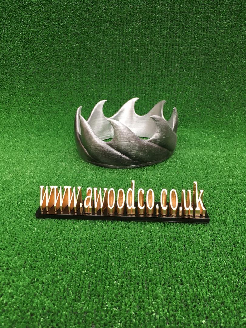 Aerys II Targaryen replica costume king crown