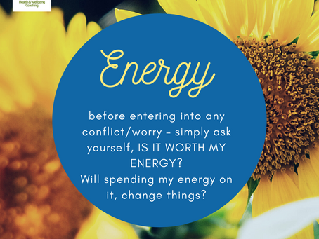 The role played by energy in Wellbeing