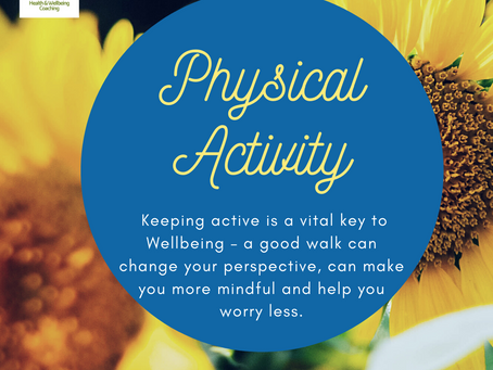 The role of Physical Activity in improving Wellbeing.