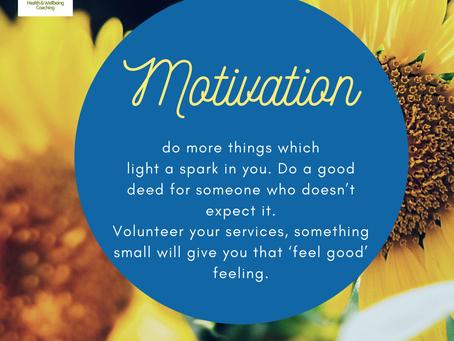 Motivation - What sparks your joy?