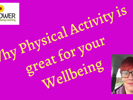 The reason why physical activity is great for your Wellbeing