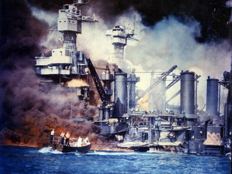 Using Deep Learning to Remember Pearl Harbor
