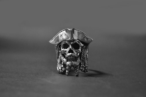 The Black Pearl - 925 Silver