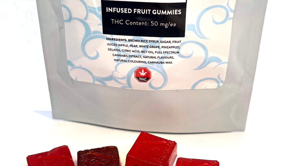 ABOVE THE CLOUDS   50mg THC Gummies