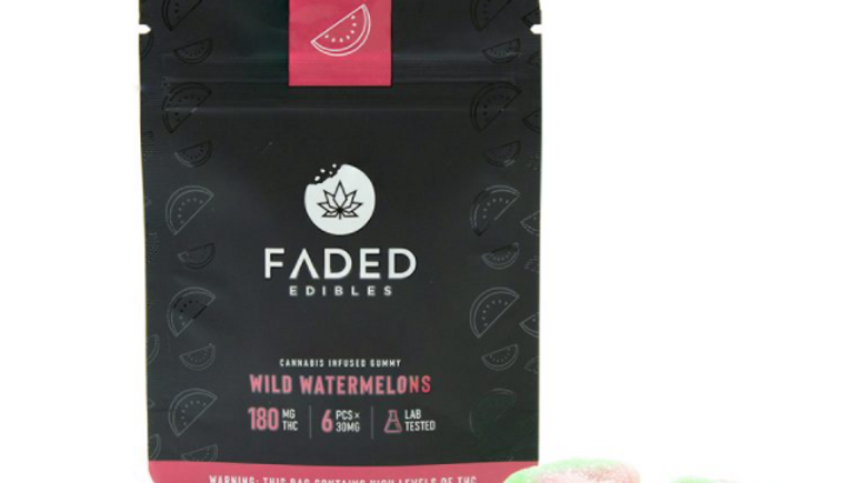 FADED - Wild Watermelons | 180MG THC