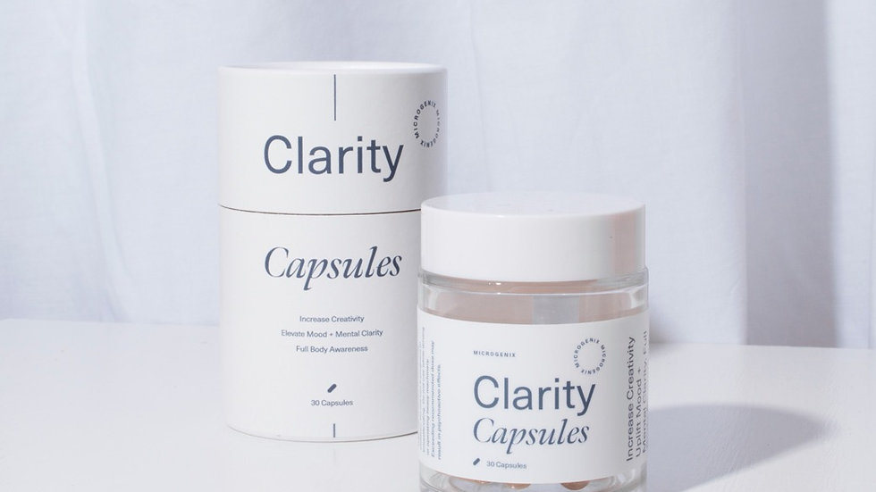 MICROGENIX Clarity Capsules