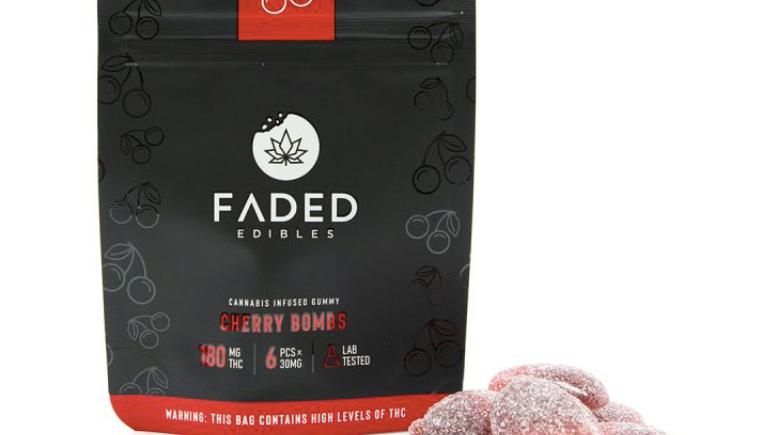 FADED - Cherry Bombs   180MG THC