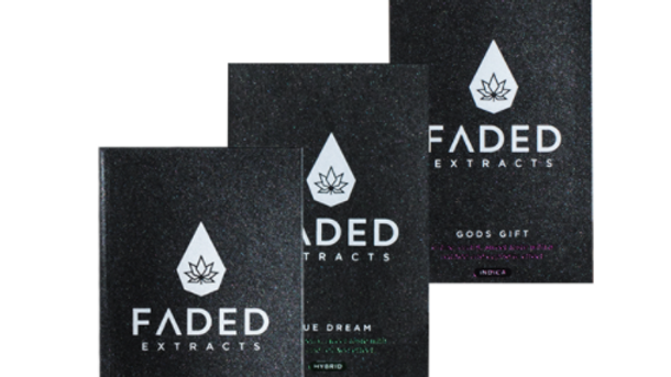 Faded Extracts AAAA+Shatter