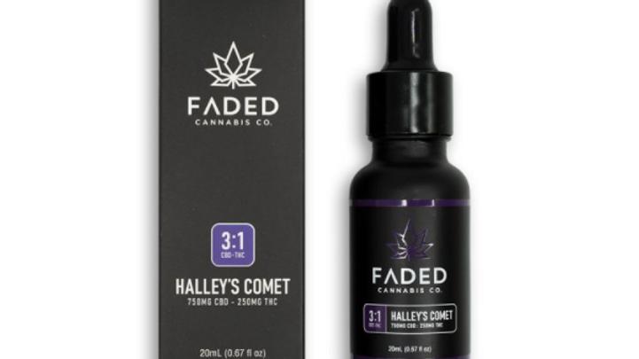 FADED - Full Spectrum 3:1 THC Tincture