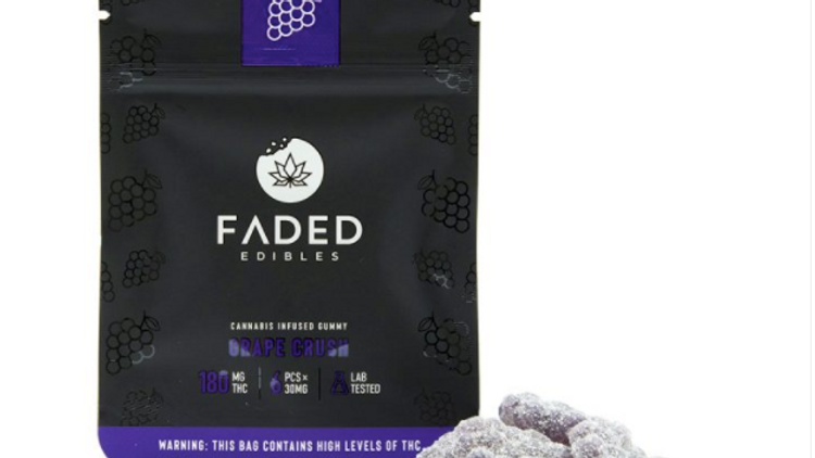 FADED- Grape Crush | 180MG THC