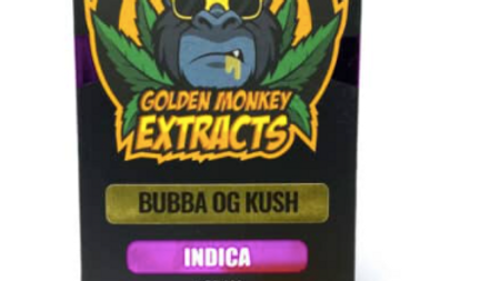 Golden Monkey Extracts Shatter