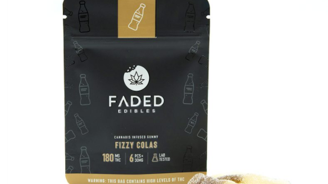 FADED- Fizzy Cola | 180MG THC