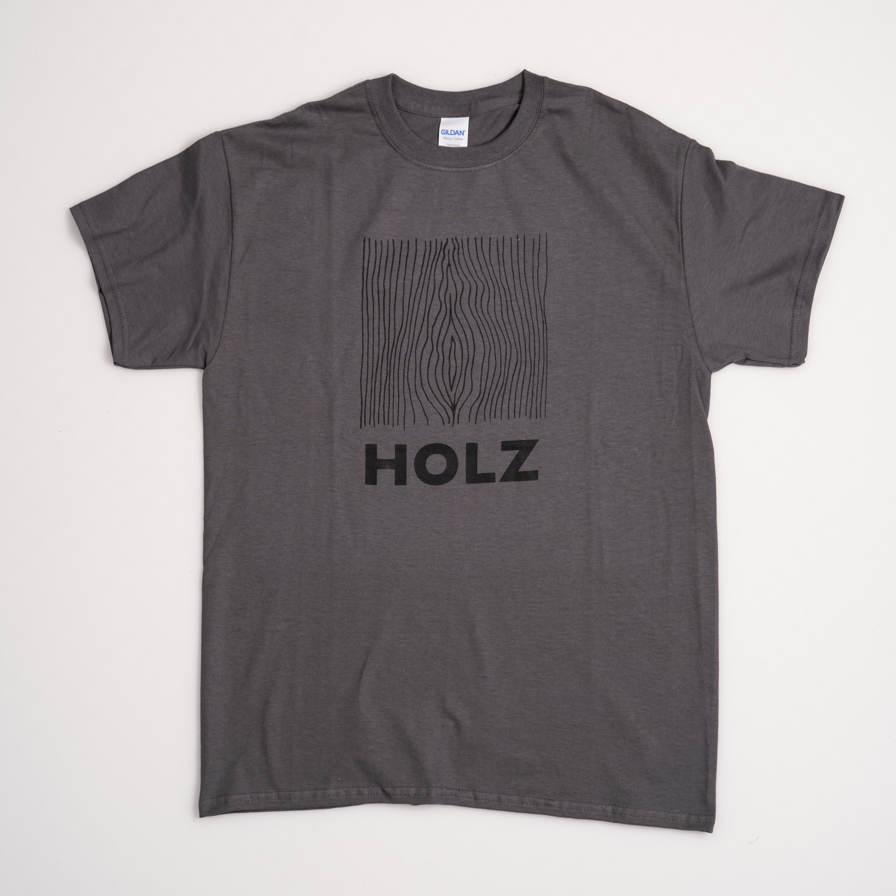 HOLZ Original T-Shirt Grey