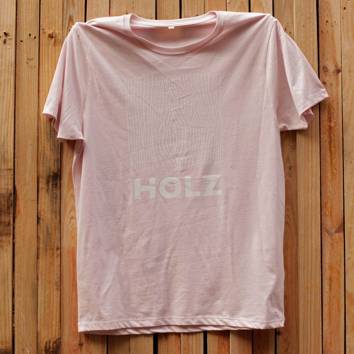 HOLZ Original T-Shirt Pink 1