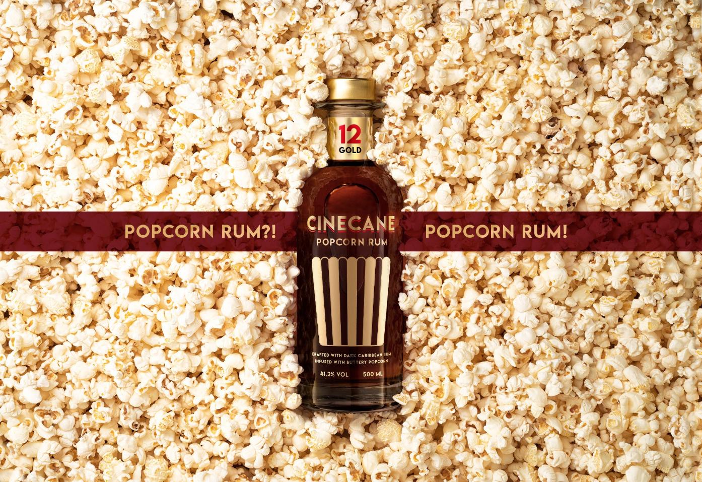 Tastillery Cinecane Popcorn Rum