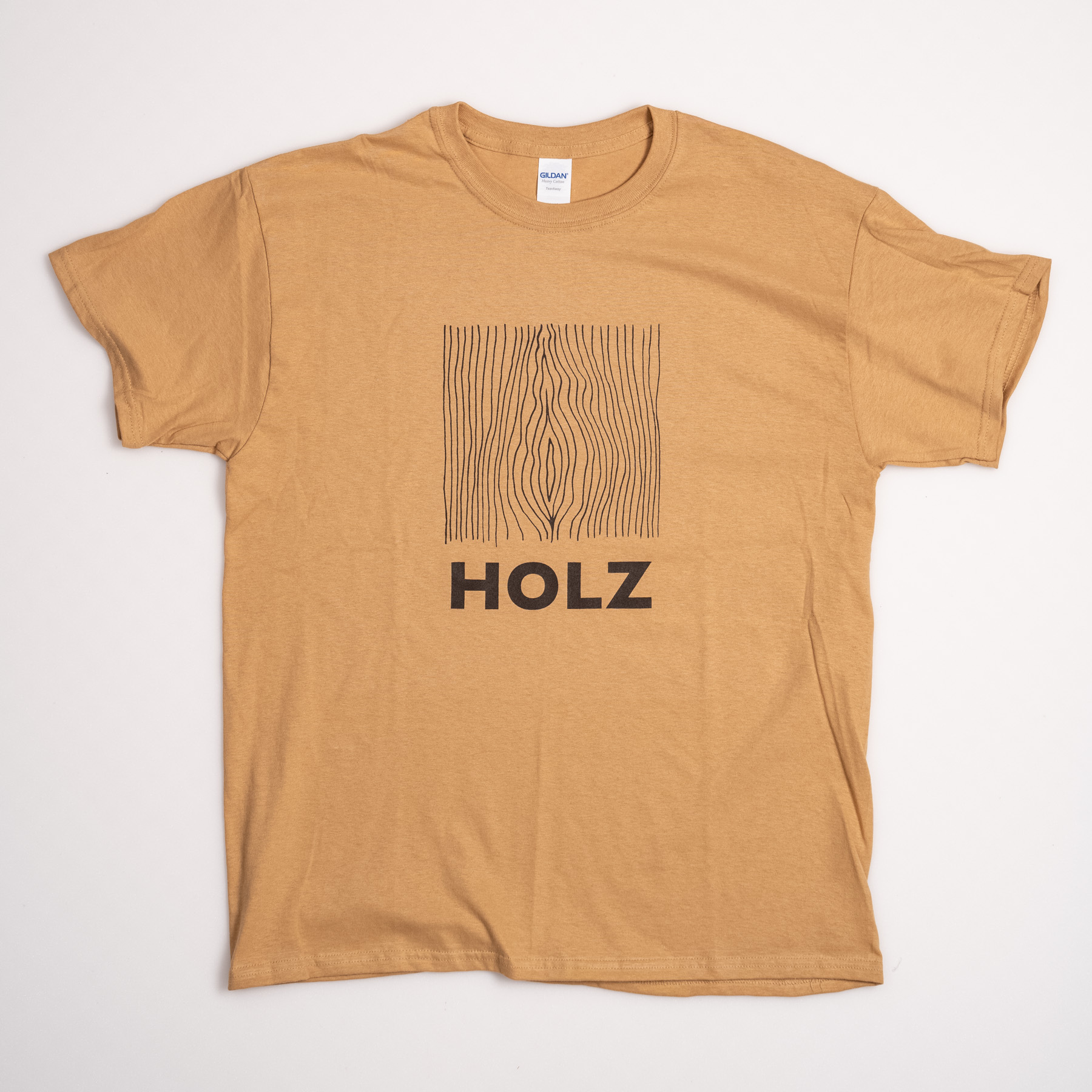 HOLZ Original T-Shirt Gold
