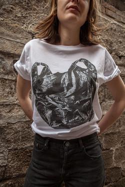 HOLZ T-Shirt Plastic Bag Women 1