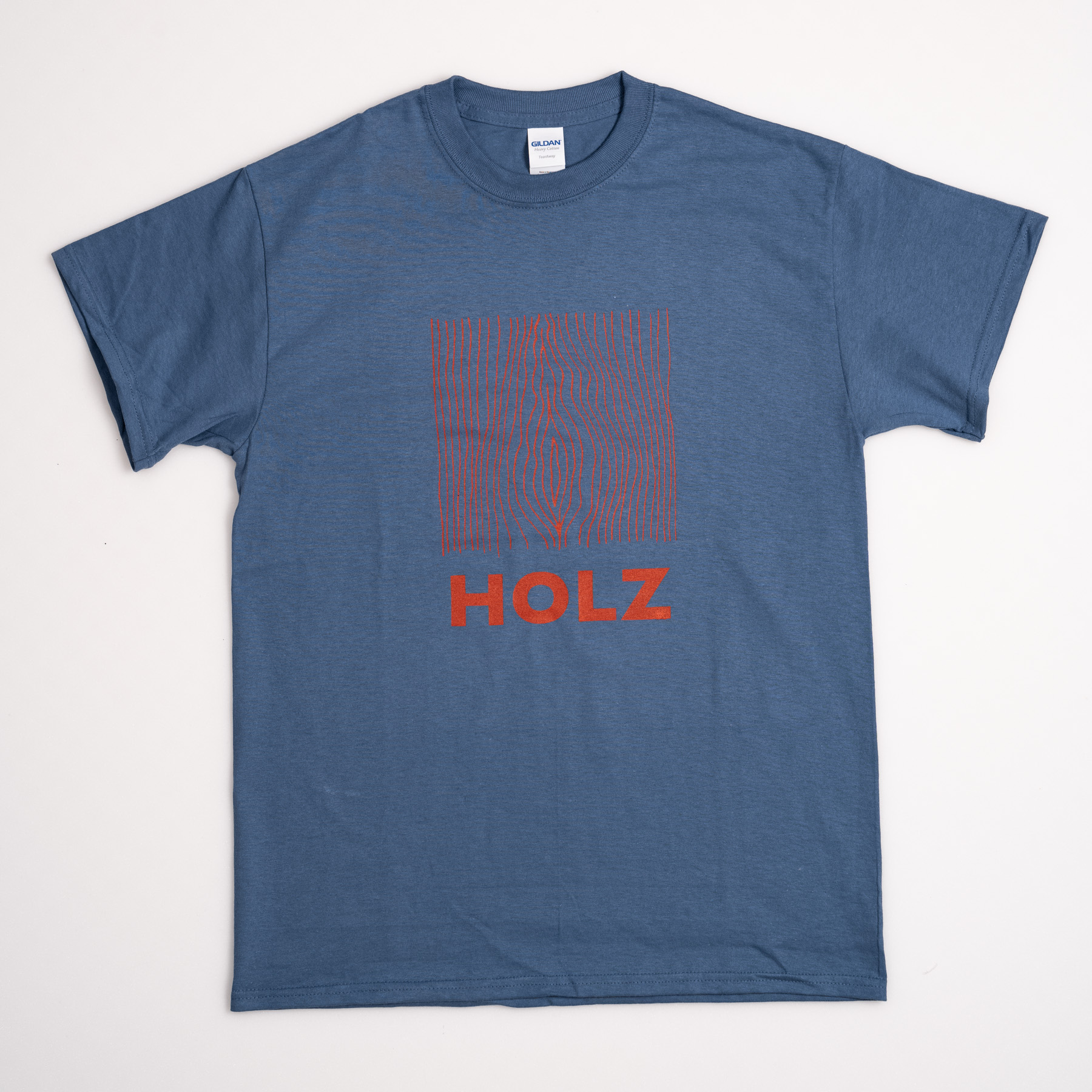 HOLZ Original T-Shirt Blue/Red 2