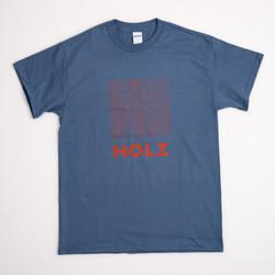 HOLZ Original T-Shirt Blue/Red 2