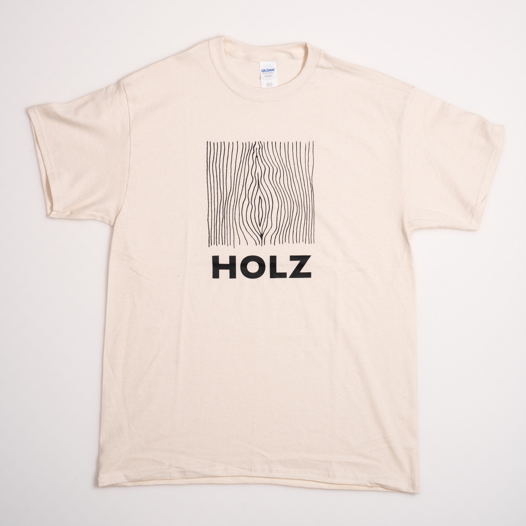 HOLZ Original T-Shirt Natural