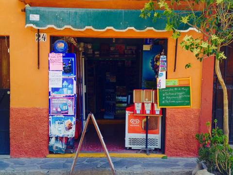 "The Corner Store is Alive and Well in Mexico: La ""tiendita"" and la ""papelería"""