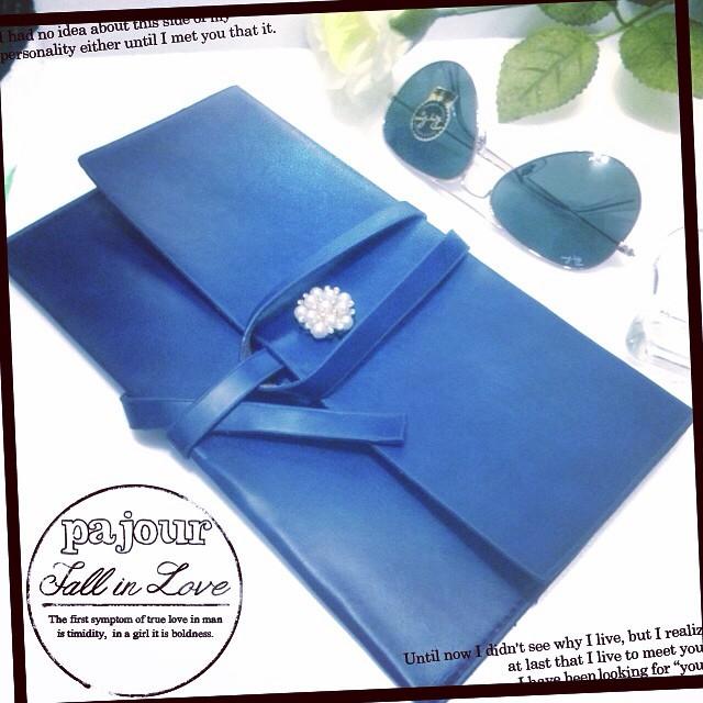 Instagram - pajour new envelope type bag  #love#beauty#luxurygirl#instalike#fash