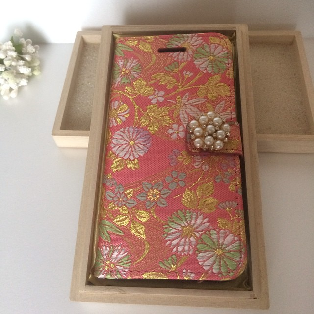 Instagram - pajour new commer! Kimono texitail iPhone6  case!! it is sooooo Japa