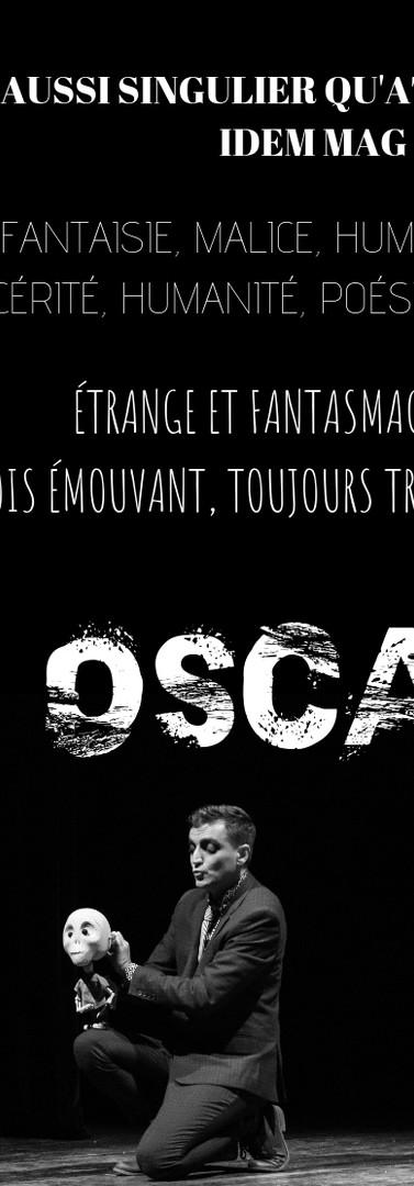 Création théâtrale OSCAR