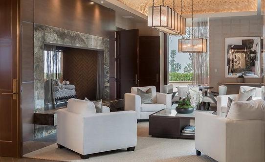 Modern lounge renovation