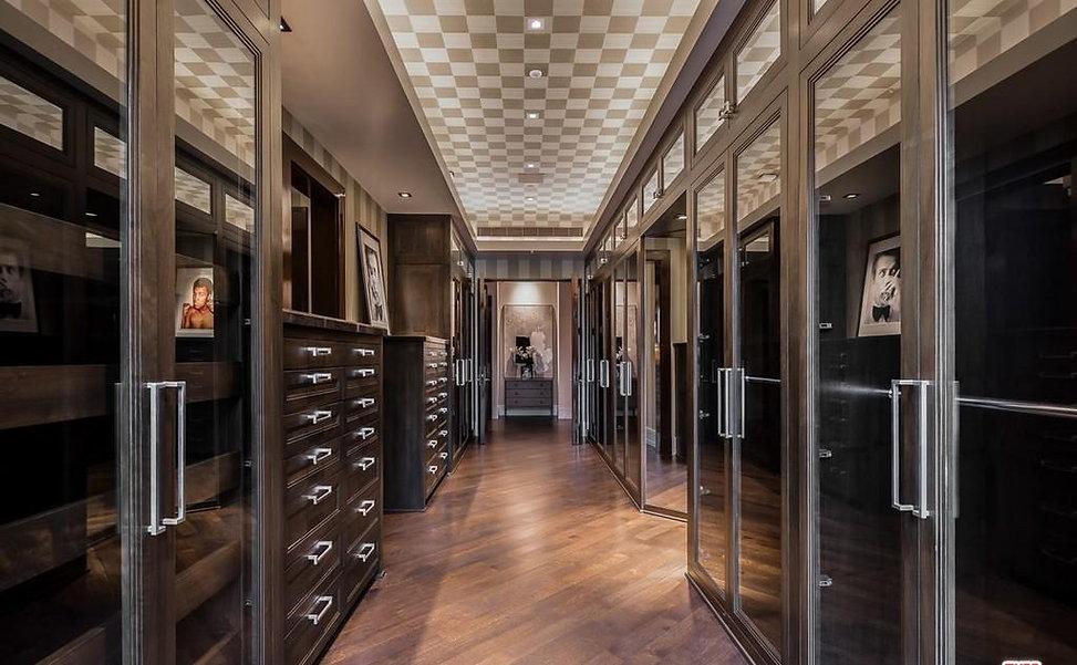 Dressing room renovation
