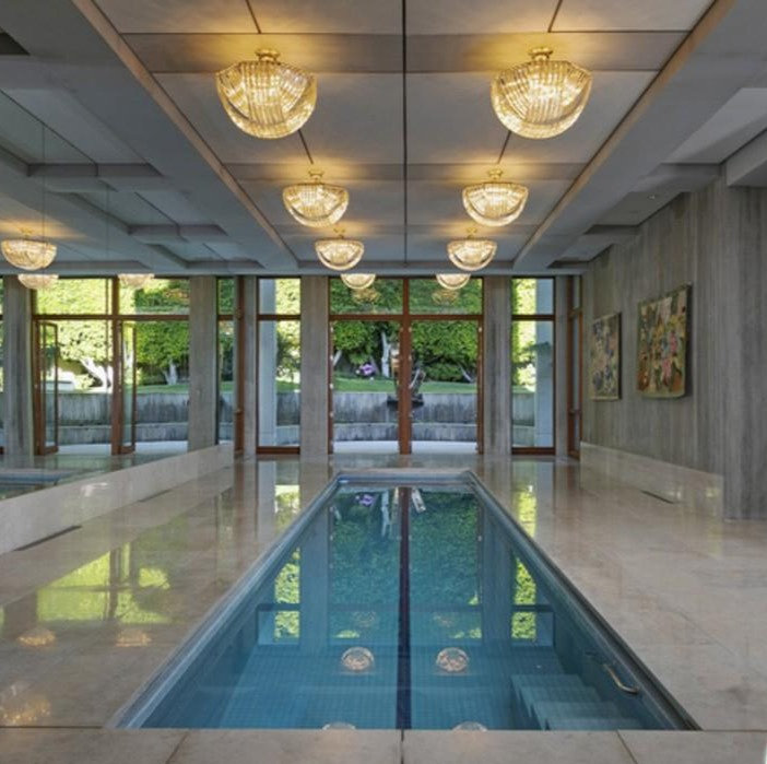 Indoor swimming pool updated