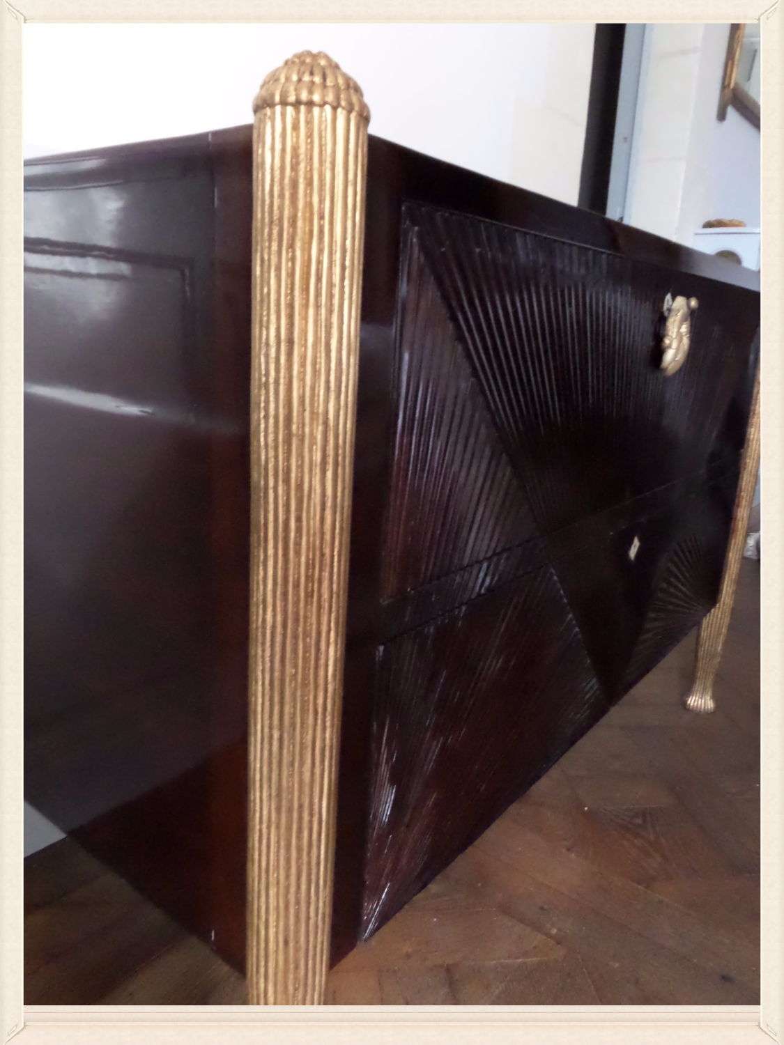 Art Deco Chest of Drawers Enguilded