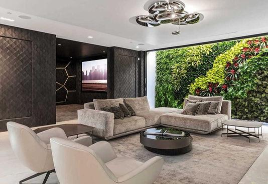 Modern lounge terrace